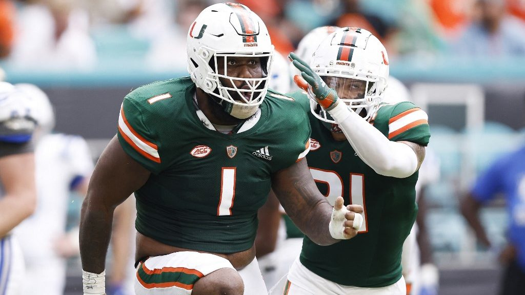 Virginia vs. Miami College Football Week 5 Preview and Best Bet